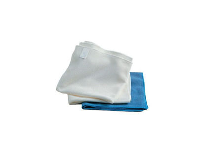 Image de Tissus d'essuyage blancs (x50)