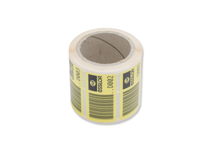 Image de Etiquettes code-barres perçage (x200)