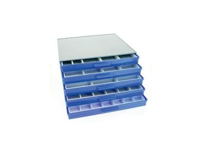 Image de Bloc de rangement atelier 5 tiroirs
