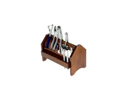 Image de Râtelier bois à pinces et tournevis