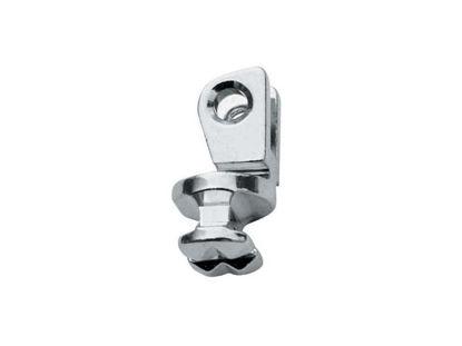 Image de Charnières à incruster + Vis, pour Flex, Gauche, 1.0 - 1.0mm