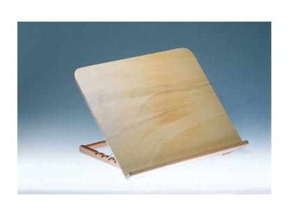 Image de Pupitre de lecture en bois inclinaison à plusieurs degrés