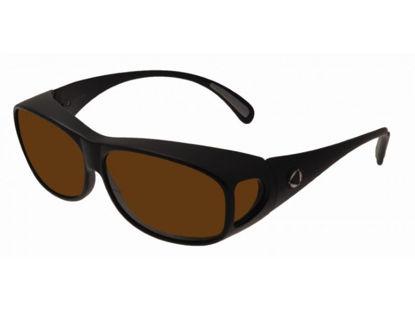 Image de BIOCOVER noir mat VS1 - Taille M - brun polarisé