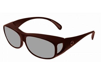 Image de BIOCOVER bronze foncé VS3 - Taille L - POL1 100 % UV sans filtre PC sun coat
