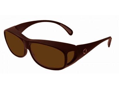 Image de BIOCOVER bronze foncé VS1 - Taille L - brun polarisé