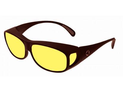 Image de BIOCOVER bronze foncé VS1 - Taille L - jaune polarisé