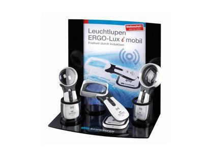 Image de Présentoir universel de 3 loupes ERGO-Lux i mobil 4500K