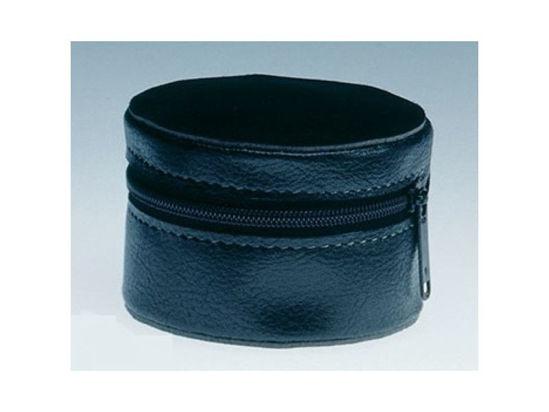Image de Etui cuir noir à zip pour Visolett S93066
