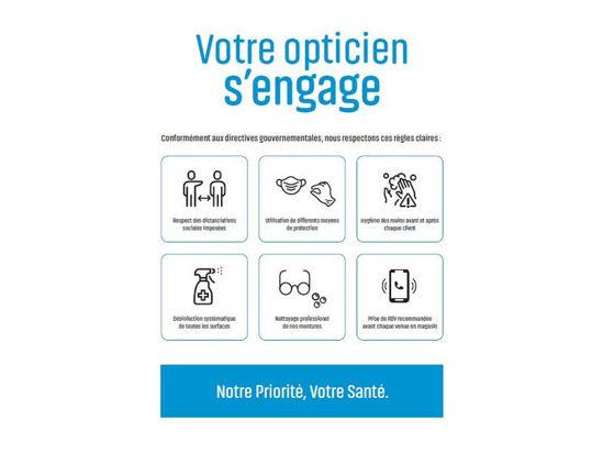 Image de Sticker A4 règles d'hygiène