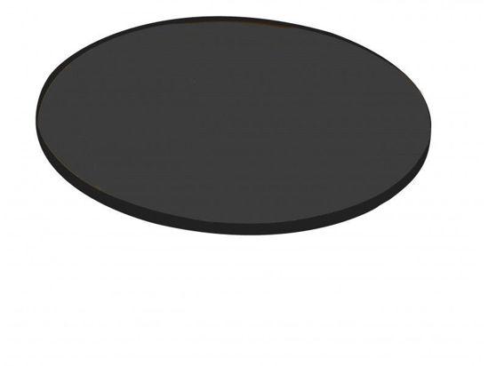 Image de Verre plan avec filtre polarisé 3 gris