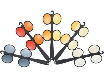 6 faces à retournement filtres sélectifs Multilens™