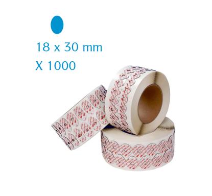Pastilles adhésives 3M LEAP III ovales 18x30 mm (x1000)