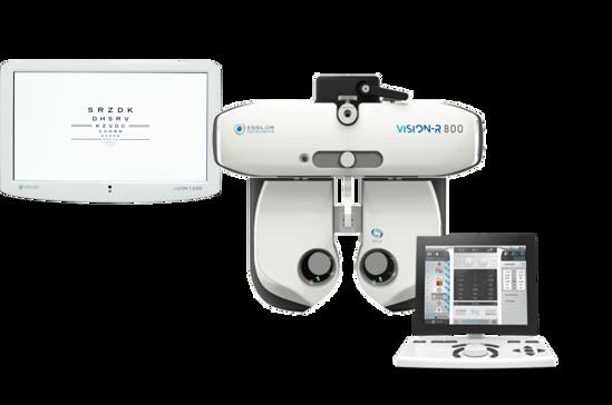 Vision-R 800 avec écran et console